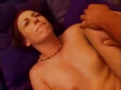 Legs Spreaded  and  HUGE Cock Goin Deep!<br>
