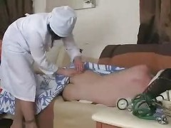 Russian Mature Nurse Mom Son