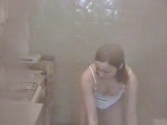 My real voyeur video girl in her underwear<br>