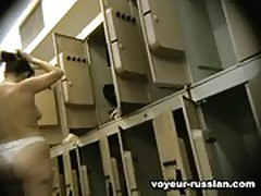 Voyeur russian locker room