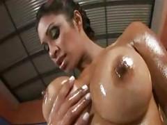 Oiled Brazilian Emanuelle