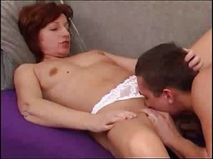 Mature Redhead Does Anal
