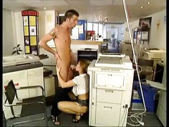 busty french beauty fucked at the photocopiers - nm17