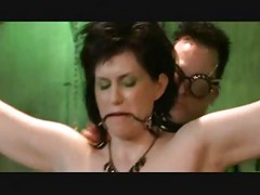 Gorgeous MILF Chained And
