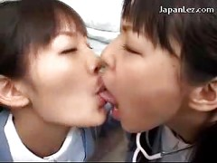 Nurse Getting Her Tongue Sucked Face Nose Licked By Her Collegaue While Sitting On The Hospitals Floor<br>