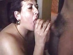 My mature slut wife lick ass of a young man