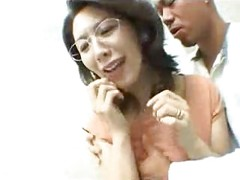 Japanese Milf Fucked In
