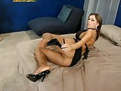 Natalie Valez in Pantyhose