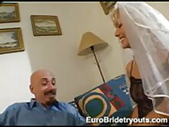 Sweet European Kathy at Euro Bride Tryouts