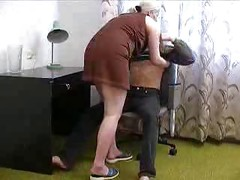 Russian Mature And Boy<br>
