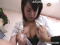 Shinobu Mizushima Busty Female Doctor Asian Slut Plays Docto