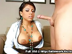 Working Latina Face Fuck