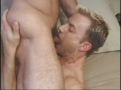Hot Hairy Stud & Blonde