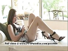 Danielle from ftv girls, adorable redhead teen using speculu