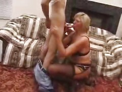 Horny Mature Mom Fucked By Younger<br>
