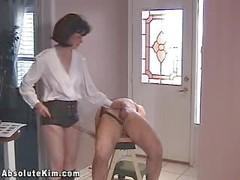 Milf dominatrix bondage balls torture