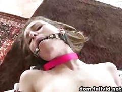 Tied Up Brunette Teen<br>