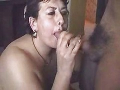 Italian cuckold. Mature licks