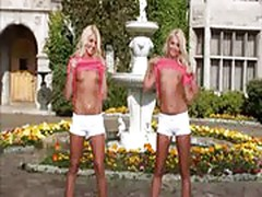 Karissa and Kristina Shannon Playboy Twins