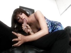 Brunette in Fishnet has a long fuck (Part 1 of 2) TheNylonChannel