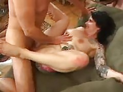 Tattooed Girl Gets Fucked