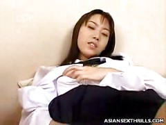 Asian Pussy Spreading<br>