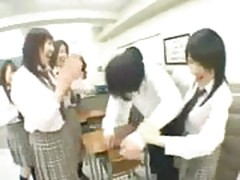 Schoolgirls domination