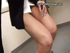 Asian a pantyhose sale woman get sex at office<br>