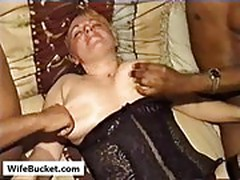 German wife interracial gangbang
