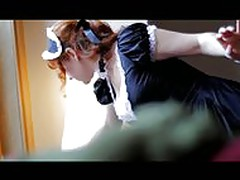 Redhead Gives a French Maid