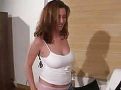 Redhead Canadian MILF Fucked By Neighbor