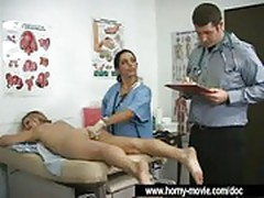 Doctor does medical ass check