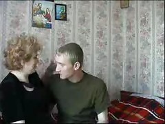 Russian mom has sex with own