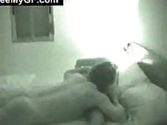 Horny Couple Having Wild Sex at Bed