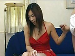 Asian girl cum 2