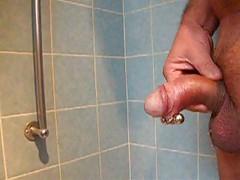Cumshot piercing