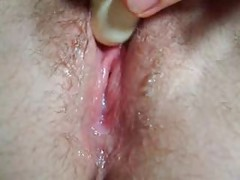 Wet Pussy- Creamy Masturbation close up,  nice contractions!<br>