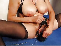 Mature mom big tits and clit torture 6
