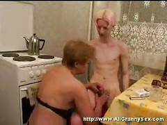 Amateur russian mom and son<br>