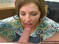 Hot milf gets fucked in the