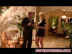 Busty blonde Julia Ann fuck hard  with her boss<br>