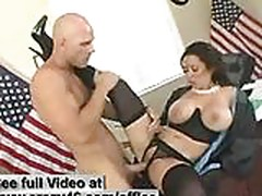 Secretary fucks her Boss in