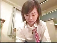 School Girl Footjob
