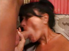 Italian milf hot fuck session