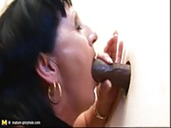Marita at the gloryhole