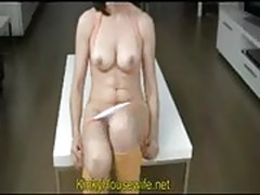 Period pissing extreme amateur wife