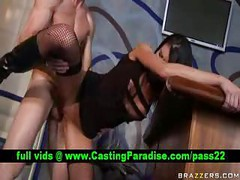 Sea Raw,  brunette pornstar punished<br>
