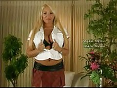 Mary Carey shows off her massive tits