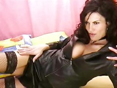 Sexy webcam mistress babe teasing and humiliating on webcam<br>