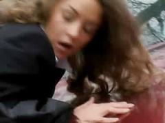 Schoolgirl fucked from